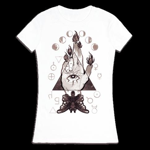 Hand Of Glory Womens T-Shirt