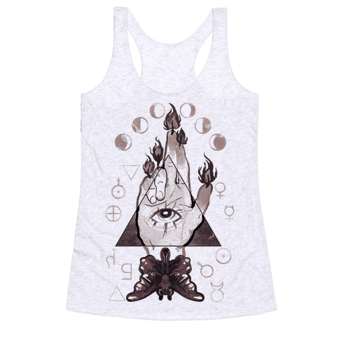Hand Of Glory Racerback Tank Top
