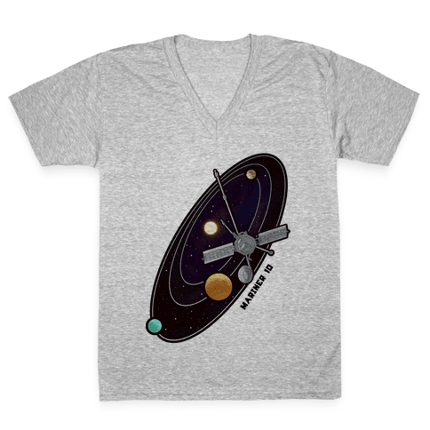 Mariner 10 Slingshot V-Neck Tee Shirt