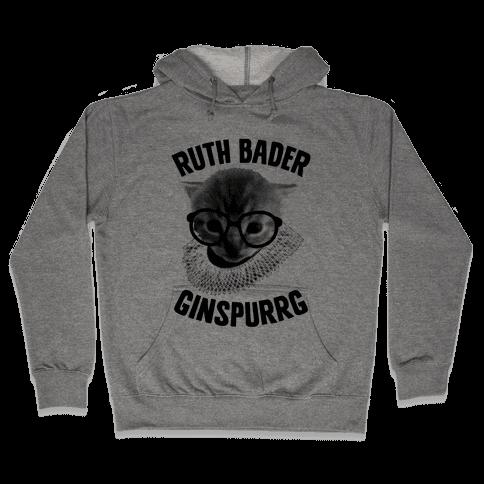 Ruth Bader Ginspurrg Hooded Sweatshirt