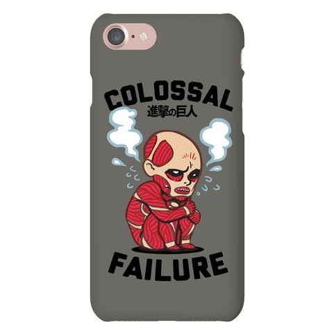 Colossal Failure Parody Phone Case