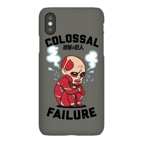 Colossal Failure Parody Phone Case