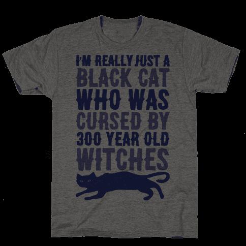 I'm Really Just A Black Cat Mens T-Shirt