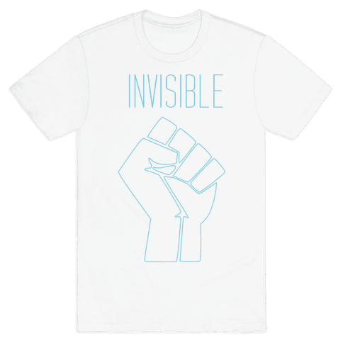 Invisible  Mens T-Shirt