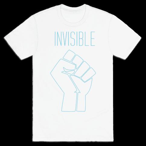 Invisible  Mens T-Shirt