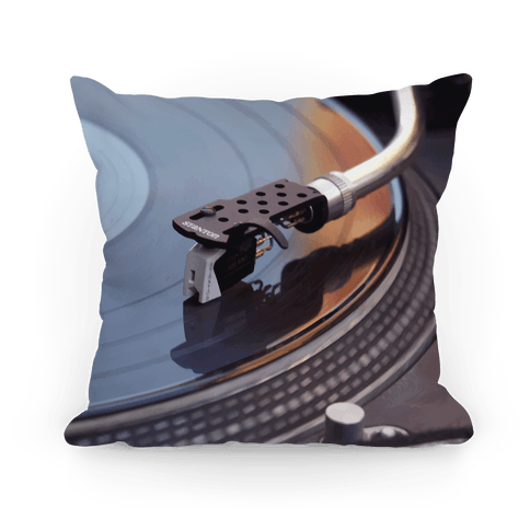 Record Player Pillow
