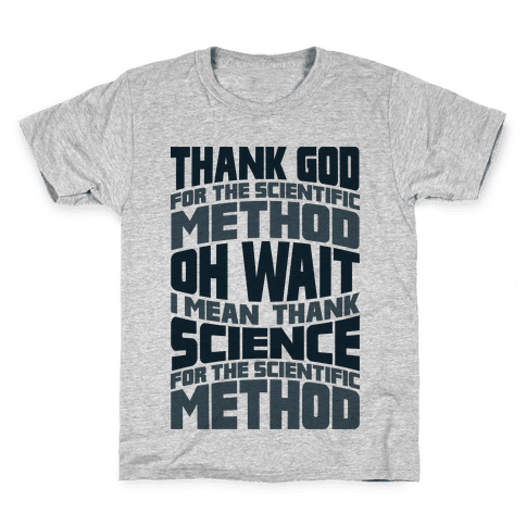 Thank Science  Kids T-Shirt