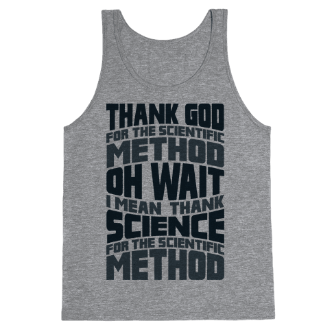 Thank Science  Tank Top