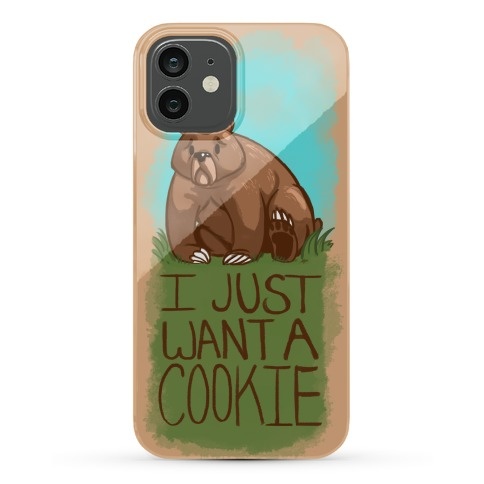 Cookie Bear Phone Case