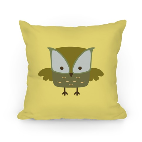 Cute Owl Pillow