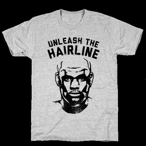 Unleash The Hairline Mens T-Shirt
