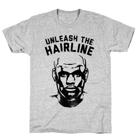 Unleash The Hairline Mens T-Shirt