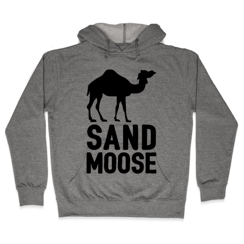 Sand Moose Hooded Sweatshirt