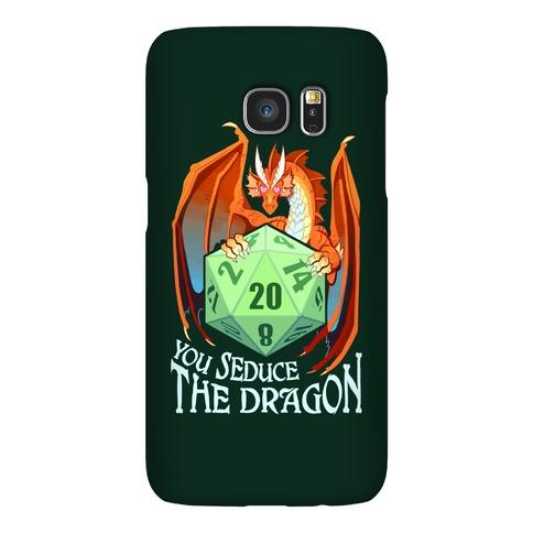 You Seduce The Dragon Phone Case