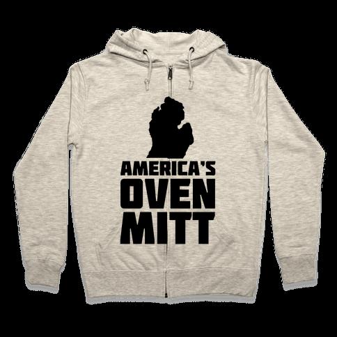 America's Oven Mitt Zip Hoodie