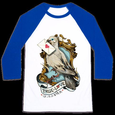 Pigeon Boyfriend Baseball Tee