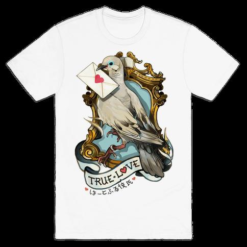 Pigeon Boyfriend Mens T-Shirt