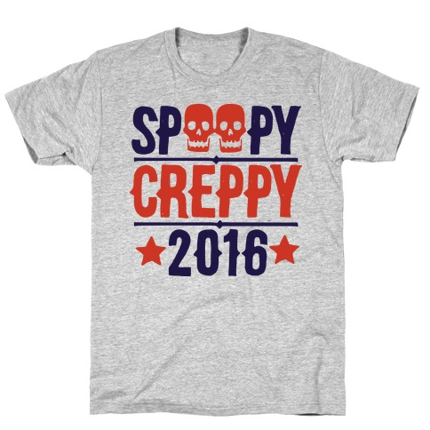 Spoopy Creppy for President 2016 Mens T-Shirt