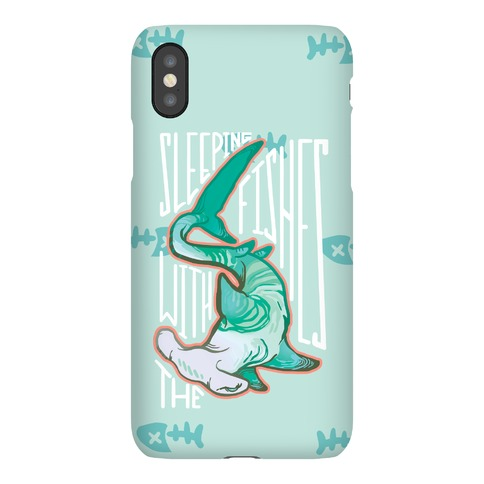 Sleeping With The Fishes Phone Case