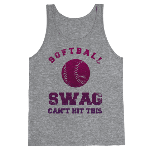 Softball Swag Tank Top