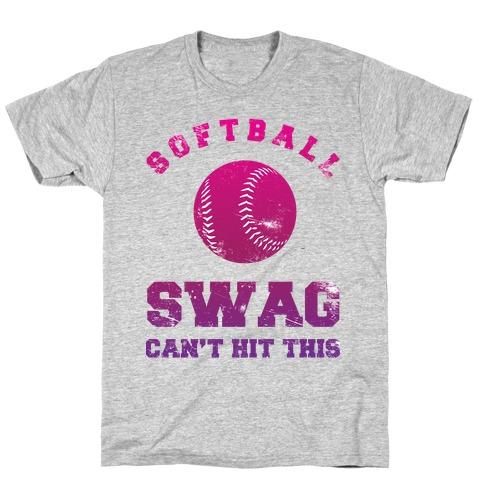 Softball Swag Mens/Unisex T-Shirt