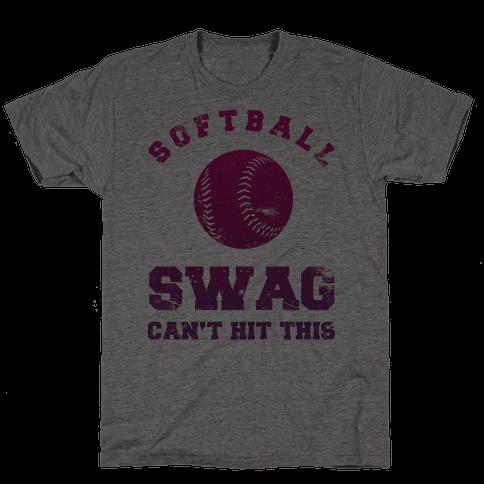 Softball Swag Mens T-Shirt