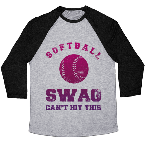 Softball Swag Baseball Tee