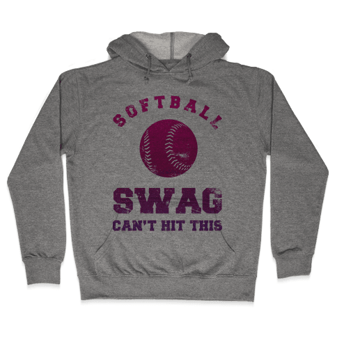 Softball Swag Hooded Sweatshirt