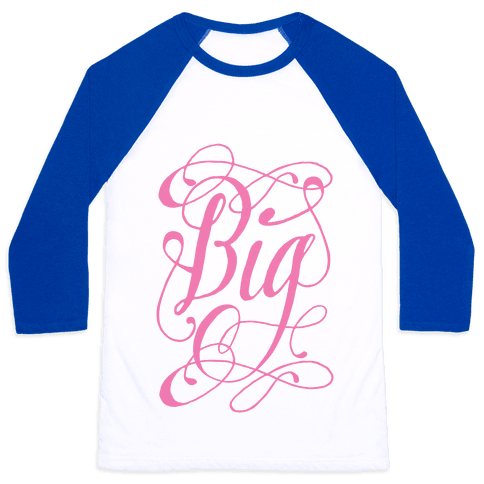Big Monogram Baseball Tee