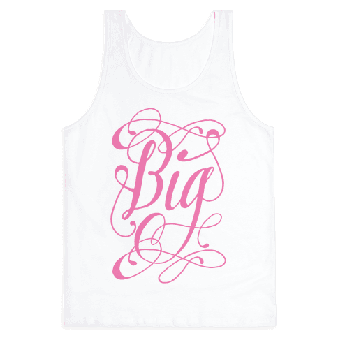 Big Monogram Tank Top