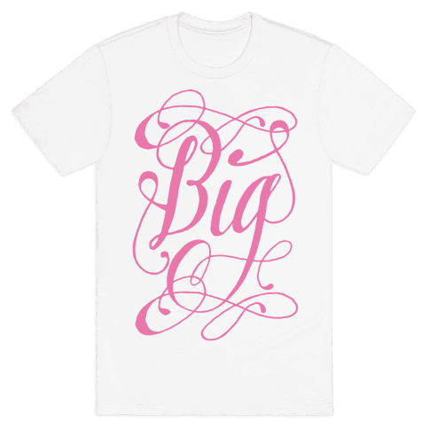 Big Monogram Mens T-Shirt