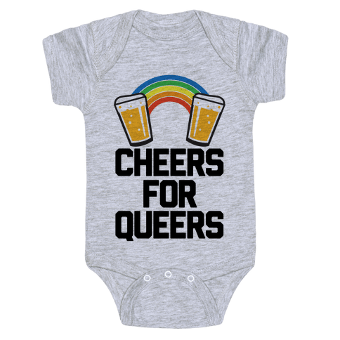 Cheers For Queers Baby One-Piece