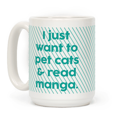I Just Want To Pet Cats And Read Manga