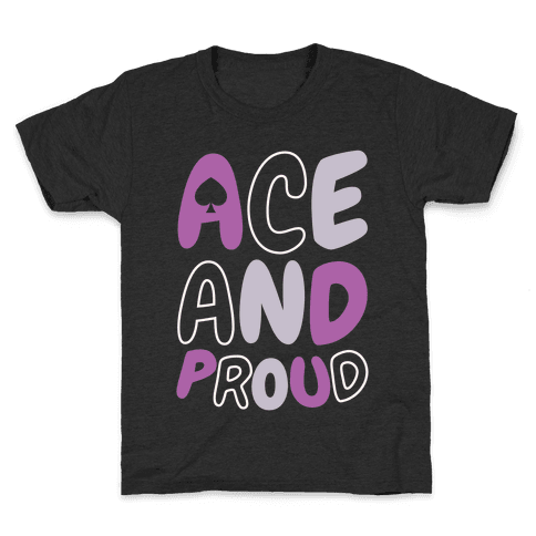 Ace And Proud Kids T-Shirt