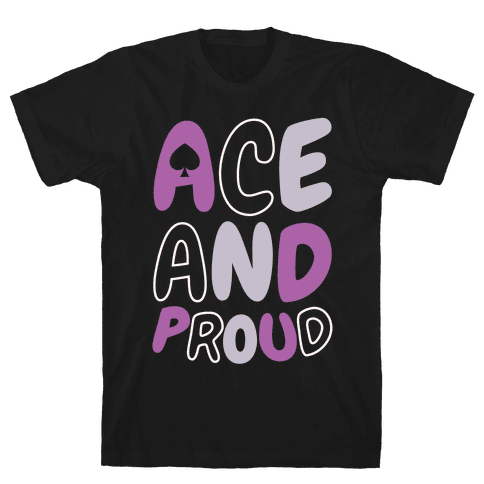 Ace And Proud Mens T-Shirt