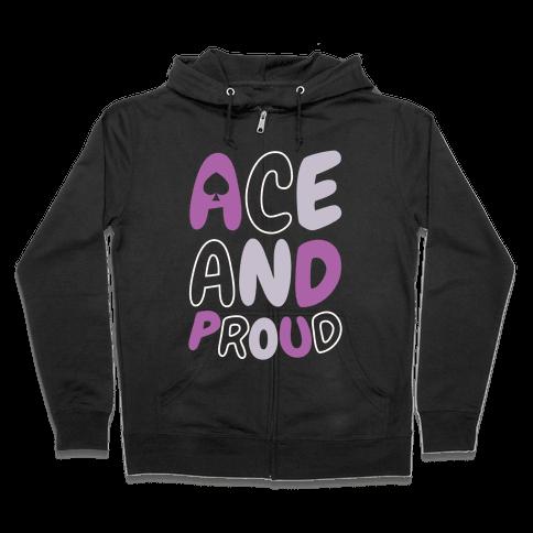 Ace And Proud Zip Hoodie