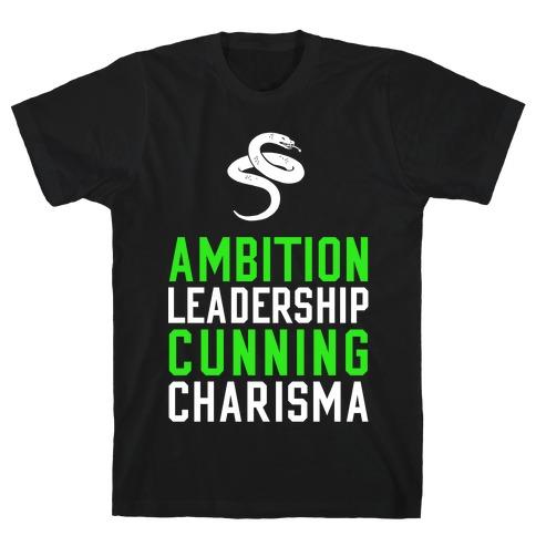 Slytherin Qualities Mens T-Shirt
