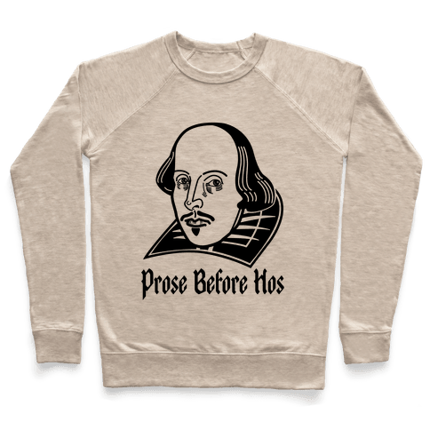 Prose Before Hos Pullover