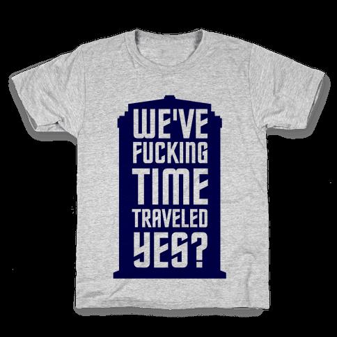 F***ing Time Travel Kids T-Shirt