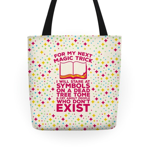 Book Magic Trick Tote