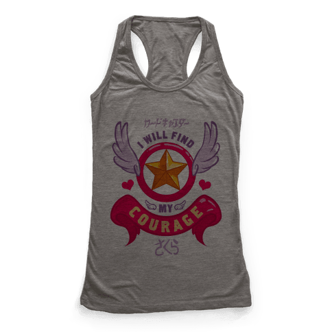 Cardcaptor Sakura: I Will Find My Courage Racerback Tank Top