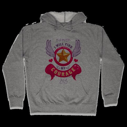 Cardcaptor Sakura: I Will Find My Courage Hooded Sweatshirt