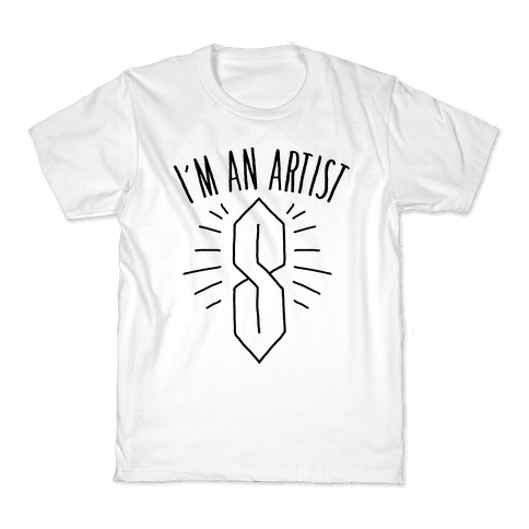 I'm An Artist Kids T-Shirt