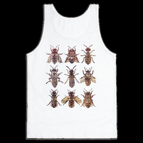 Bee Species Tank Top