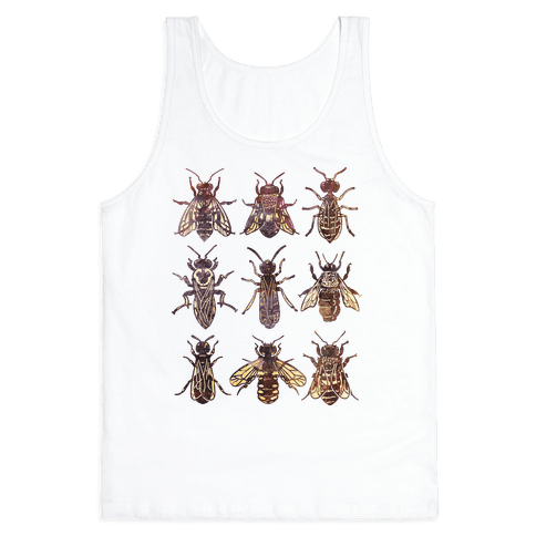 Bee Species Tank Top