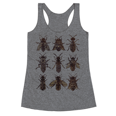 Bee Species Racerback Tank Top