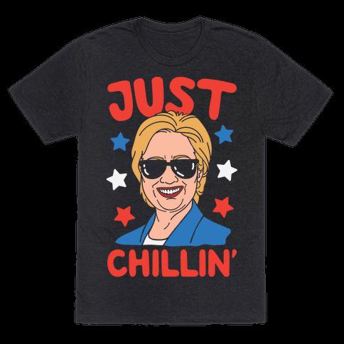 Just Chillin' Hillary Clinton