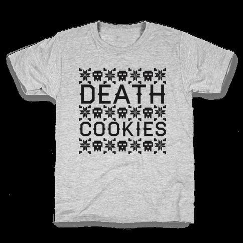 Death Cookies Kids T-Shirt