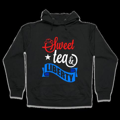 Sweet Tea & Liberty Hooded Sweatshirt