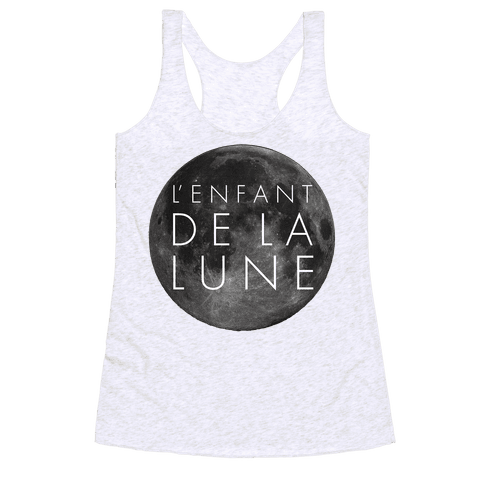 Child Of The Moon Racerback Tank Top